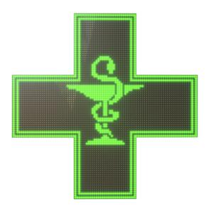 Аптечні хрести LED