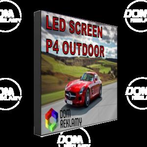 Cвітлодіодний екран  DR P4 mm (outdoor) 1m²