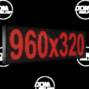Рухомий рядок LED DR 960/320 (червоний)