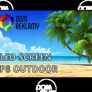 Cвітлодіодний екран  DR P8 mm (outdoor) 1m²