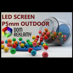 Cвітлодіодний екран  DR P5 mm (outdoor) 1m²