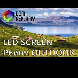 Світлодіодний екран DR  P6 mm (оutdoor) 1m²