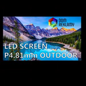 Cвітлодіодний екран  DR P4.81 mm (outdoor) 1m²
