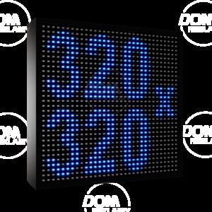 Рухомі рядки LED (синій, жовтий, білий, зелений колір)