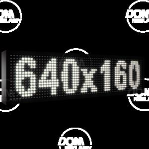 Рухомий рядок LED DR 640/160 (синій, жовтий, білий, зелений)