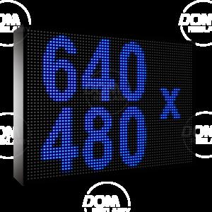 Рухомий рядок LED DR 640/480 (синій, жовтий, білий, зелений)