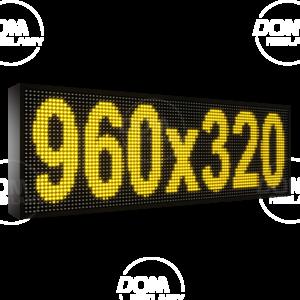 Рухомий рядок LED DR 960/320 (синій, жовтий, білий, зелений)