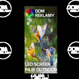 Cвітлодіодний  орендний екран  DR P4.81 mm (outdoor) 1m²