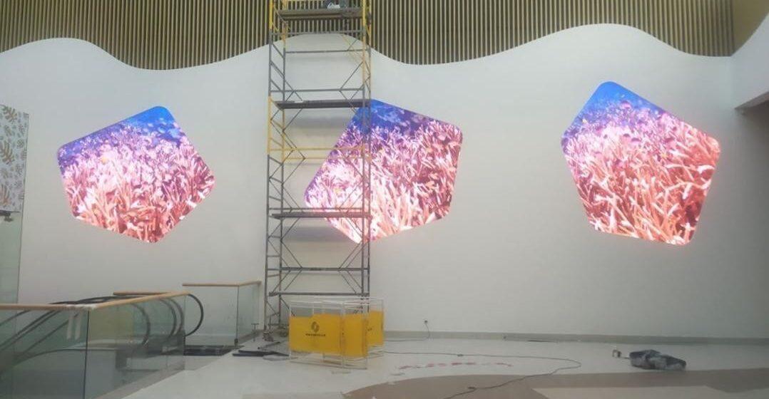 LED-екрани нестандартної форми