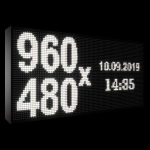 Рухомий рядок LED DR 960/480 (синій, жовтий, білий, зелений)