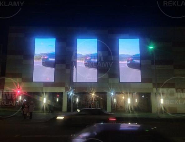 LED екран P10 ТЦ Полісся м.Київ