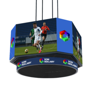 LED екран КУБ  для спорту. Р6мм.